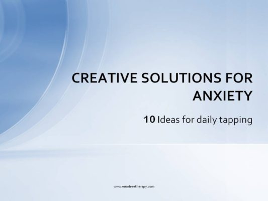 anxiety creative solutions-youtubelive